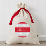 Scandi Personalised Santa Sack