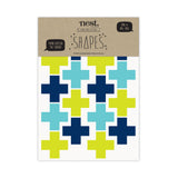 SHAPES 'Crosses' Fabric Wall Stickers