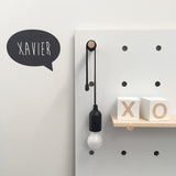 Speech Bubble Wall Sticker
