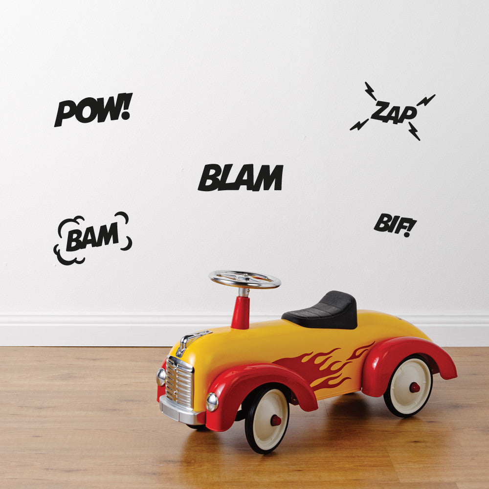 Superhero Wall Sticker Set