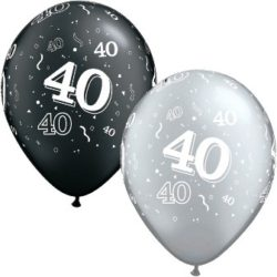 Latex Balloons -Printed AGES