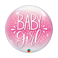 Baby Girl Balloon - Bubble
