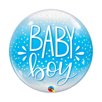 Baby Boy Balloon - Bubble