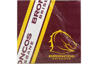 Broncos NRL Napkins Pack of 12