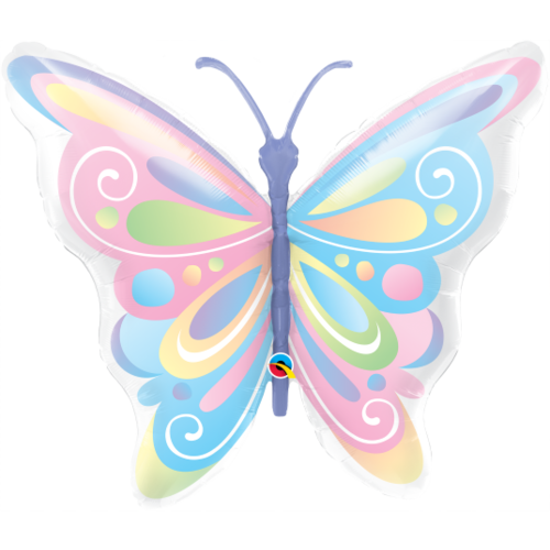 Pastel Butterfly Balloon