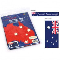 Australian Flag Door Cover & Banner Set