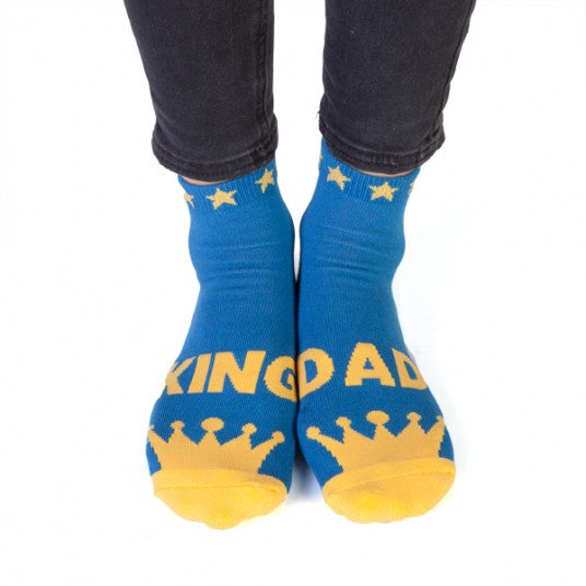 King Dad Socks 'OFF DUTY' on the Bottom
