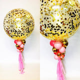 Confetti Balloon with Tassels - EACH