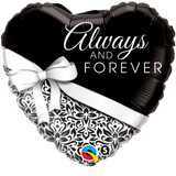 Always & Forever Balloon or Bouquet