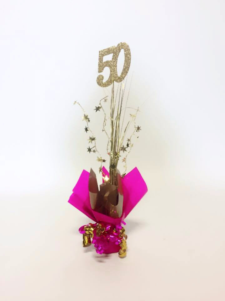 Table Decoration - Various numbers available