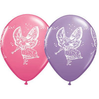 Fairy Balloons Assorted - Single or Pack - Helium Filled or Flat