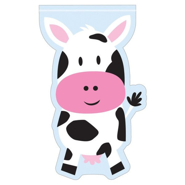 Cow Design Loot Bags Pk12