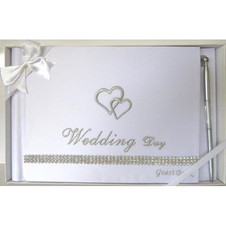 Wedding Guestbook white