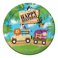 Jungle / Safari Dinner Plates Pk8