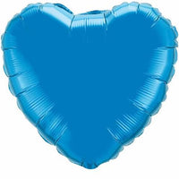 Blue Heart Balloon Foil