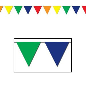 Giant Pennant Flag Banner Multi-Colour