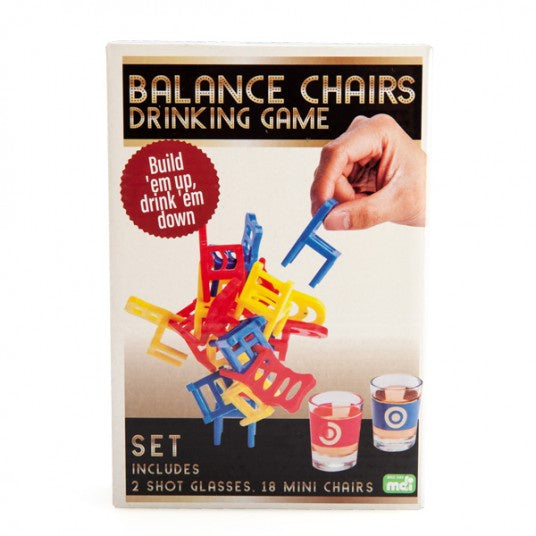 Drinking Game - Balance Chairs