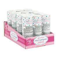 Gender Reveal Confetti Popper Box of 12 - GIRL
