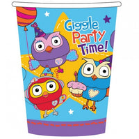 Giggle and Hoot Paper Cups Pk8