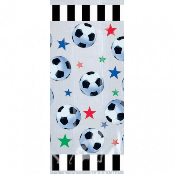 Soccer Theme Party Bags Cello Pk 20