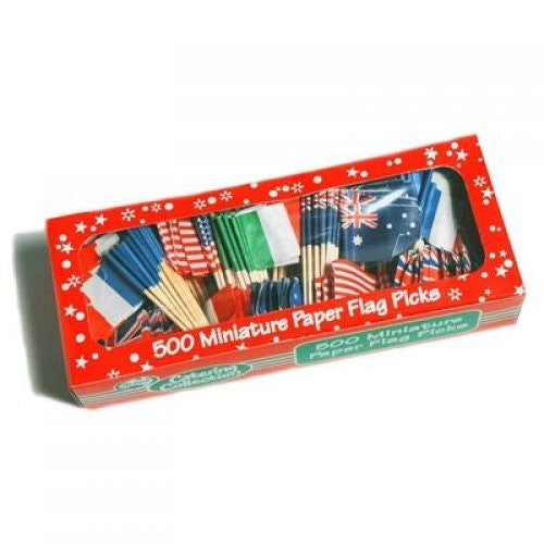 International Flag Picks Pk500