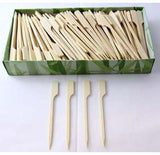 Bamboo Paddle Skewers 9cm Box250