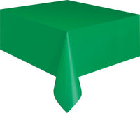 Emerald Green Plastic Tablecover