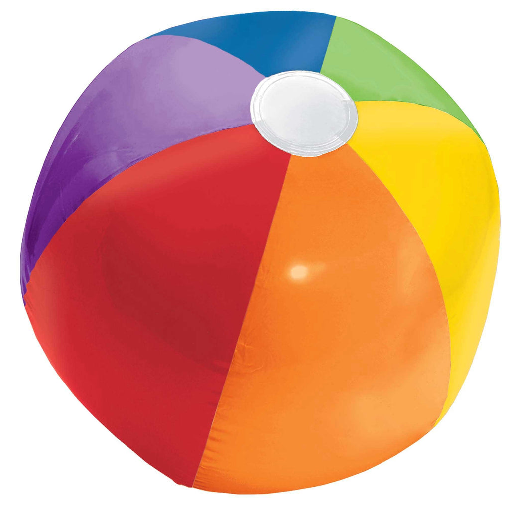 Inflatable Beach Ball Primary Colours