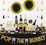 New Year Decorating Kit - Gold Glitter - Bubbly Bar