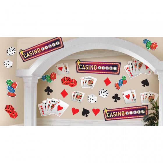 Casino Theme Cutouts Value Pack
