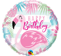 Flamingo Birthday Balloon or Bouquet