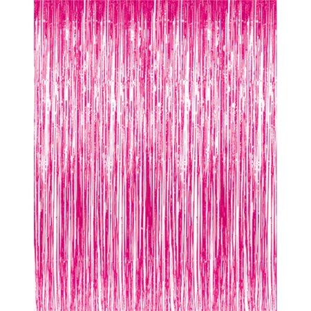 Back Drop Hot Pink | Door Curtain | Foil
