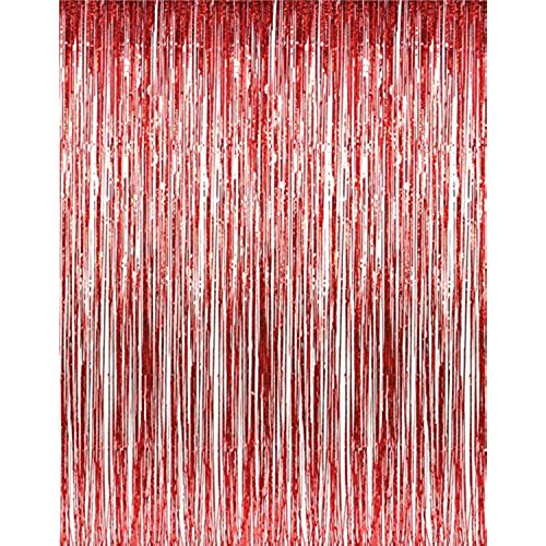 Back Drop Red | Door Curtain | Foil
