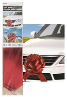 Large Car Bow - Red