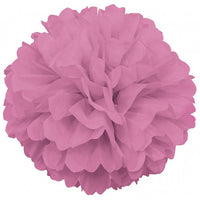 Tissue Paper Puff Ball  | Light Pink | 40cm