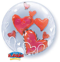 Heart Balloon - Bubble with Hearts inside