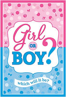 Girl or Boy Invitation Pk8