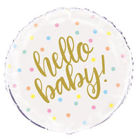 Hello Baby Balloon - Helium Filled / Bouquet or Flat