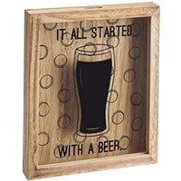 Fathers Day Gift - Beer Bottle Cap Collection Frame