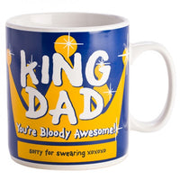 King Dad Mug  Giant