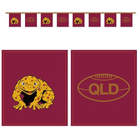 State of Origin QLD Flag Banner