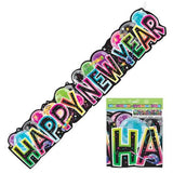 Happy New Year Banner - Bright