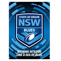 State of Origin NSW Team Poster
