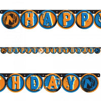 Nerf Theme Birthday Banner