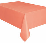 Coral Plastic Tablecover