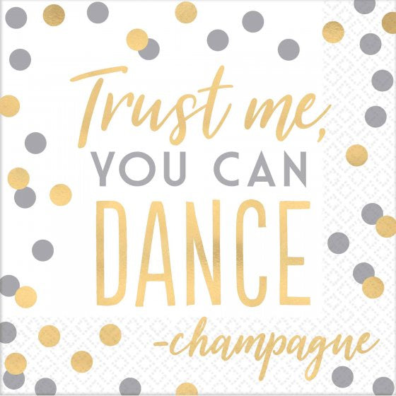 Trust Me You can Dance Lunch Napkins