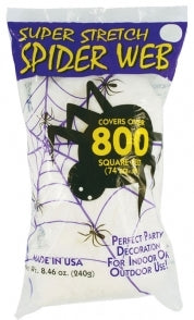 Bulk Spider Web - Super Stretch Web