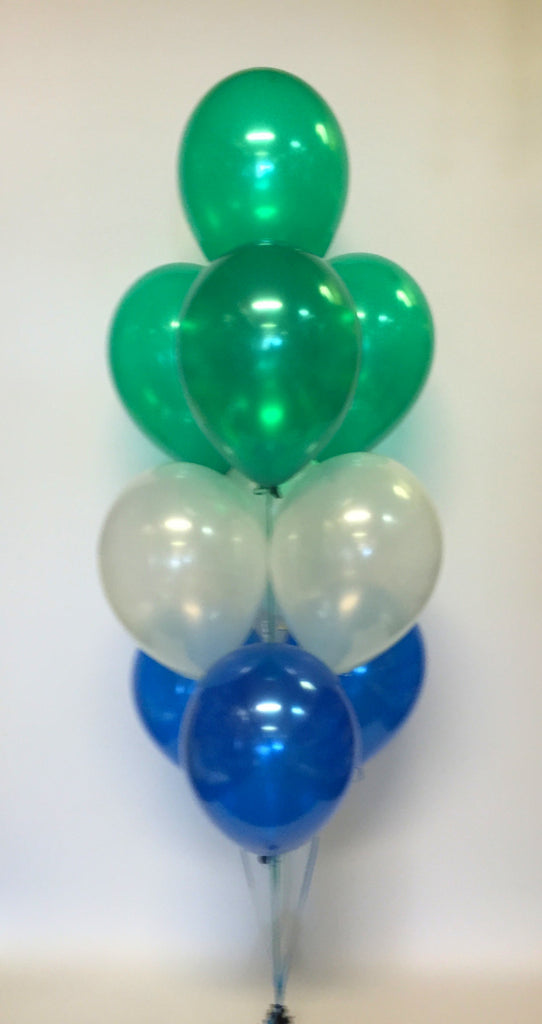 10 Balloon Layered Floor Fountain