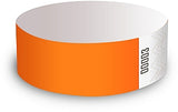 Neon Orange Wristbands - Packet of 10