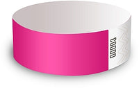 Pink Wristbands - Packet of 50